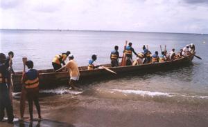 Domnitjen Magazine: Carib Canoe Trial Run (April 2008)